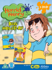 Horrid Henry's Big Holiday, DVD  DVD