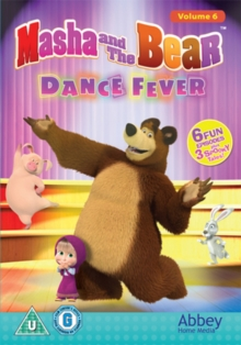 Masha and the Bear: Dance Fever, DVD DVD