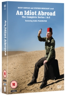 An  Idiot Abroad: Series 1 and 2, DVD DVD