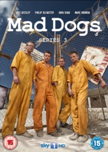 Mad Dogs: Series 3, DVD  DVD