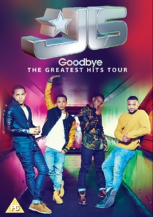 JLS: Goodbye - The Greatest Hits Tour, DVD  DVD