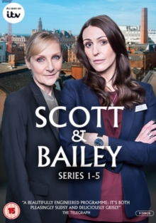 Scott and Bailey: Series 1-5, DVD DVD