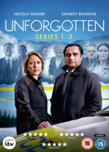 Unforgotten: Series 1-3, DVD DVD