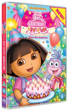 Dora the Explorer: Big Birthday Adventure, DVD  DVD