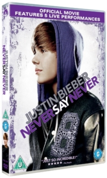 Justin Bieber: Never Say Never, DVD  DVD