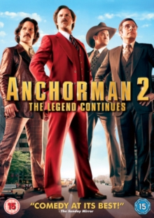 Anchorman 2 - The Legend Continues, DVD  DVD
