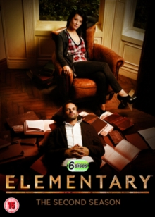 Elementary: The Second Season, DVD  DVD