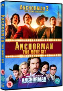 Anchorman/Anchorman 2, DVD  DVD