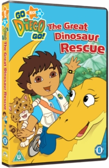 Go Diego Go!: Great Dinosaur Rescue, DVD  DVD