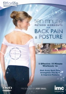 Back Pain and Posture - Ten Minute Method Workouts, DVD  DVD