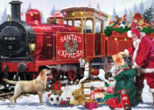 Santas Express 1000 Piece Jigsaw, Jigsaw Book