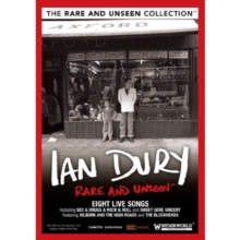 Ian Dury: Rare and Unseen, DVD  DVD