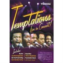 The Temptations: Live in Concert, DVD DVD