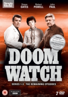 Doomwatch: Series 1-3, DVD DVD