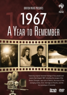 A   Year to Remember: 1967, DVD DVD