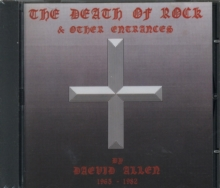 The Death of Rock and Other Entrances, CD / Album Cd