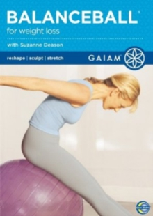 Gaiam Balance Ball for Weight Loss, DVD  DVD