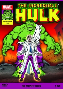 The Incredible Hulk: The Complete Series, DVD DVD