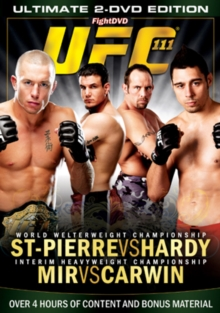 Ultimate Fighting Championship: 111 - St. Pierre Vs Hardy, DVD  DVD