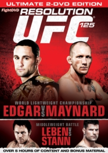 Ultimate Fighting Championship: 125 - Resolution, DVD  DVD