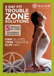Gaiam 5 Day Fit Trouble Zone Solutions, DVD  DVD