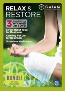 Gaiam: Relax and Restore, DVD  DVD