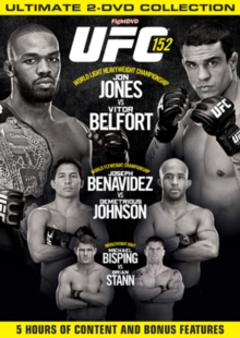 Ultimate Fighting Championship: 152 - Jones Vs Belfort, DVD  DVD