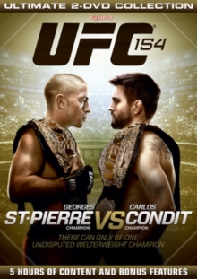 Ultimate Fighting Championship: 154 - St-Pierre Vs Condit, DVD  DVD