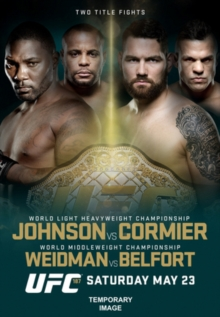 Ultimate Fighting Championship: 187 - Johnson Vs Cormier, DVD  DVD
