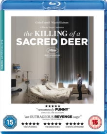 The Killing of a Sacred Deer, Blu-ray BluRay