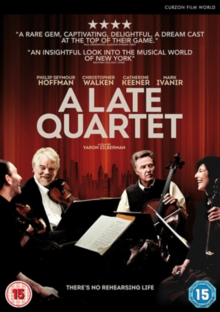 A   Late Quartet, DVD DVD