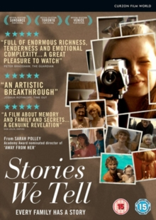 Stories We Tell, DVD  DVD