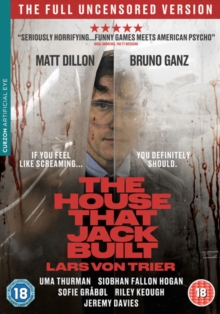 The House That Jack Built, DVD DVD