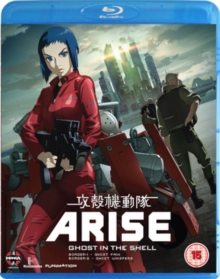 Ghost in the Shell Arise: Borders Parts 1 and 2, Blu-ray  BluRay
