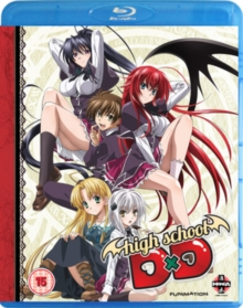 High School DxD: Complete Series 1, Blu-ray BluRay