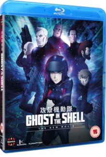 Ghost in the Shell: The New Movie, Blu-ray BluRay