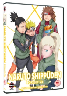 Naruto - Shippuden: Collection - Volume 22, DVD  DVD