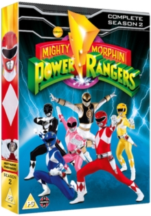 Mighty Morphin Power Rangers: Complete Season 2, DVD DVD