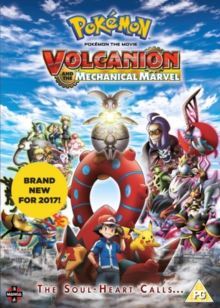 Pokemon the Movie: Volcanion and the Mechanical Marvel, DVD DVD