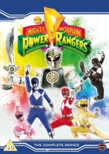 Mighty Morphin Power Rangers: Complete Season 1-3, DVD DVD