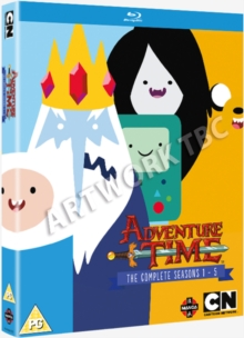Adventure Time: The Complete Seasons 1-5, Blu-ray BluRay