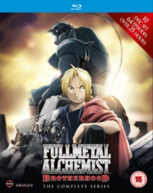Fullmetal Alchemist Brotherhood: The Complete Series, Blu-ray BluRay
