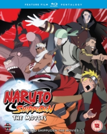 Naruto - Shippuden: Movie Pentalogy, Blu-ray  BluRay