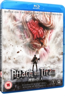 Attack On Titan: Part 1, Blu-ray BluRay