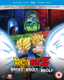 Dragon Ball Z Movie Collection Five: The Broly Trilogy