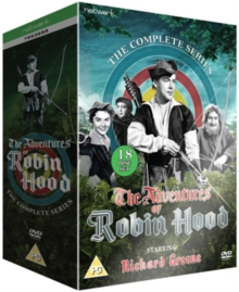 The Adventures of Robin Hood: The Complete Series, DVD DVD