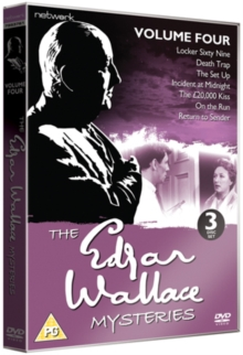 Edgar Wallace Mysteries: Volume 4, DVD  DVD