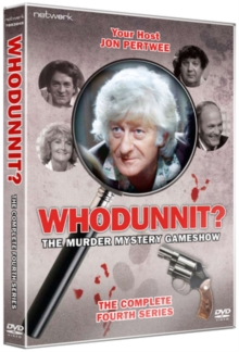 Whodunnit: The Complete Fourth Series, DVD  DVD