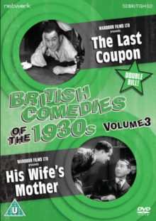 British Comedies of the 1930s: Volume 3, DVD  DVD