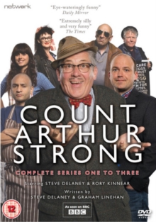Count Arthur Strong: The Complete Series 1-3, DVD DVD